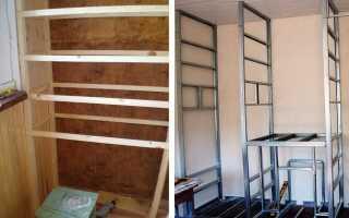Деревянный шкаф на балкон своими руками