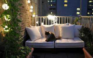 Свет на балконе без проводов