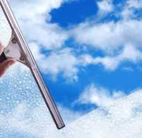 Как мыть стекла без разводов?