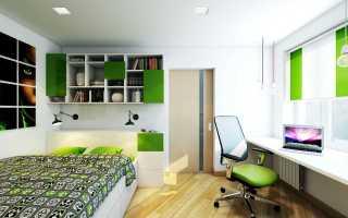 Дизайн кухни в 2 комнатной квартире