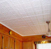 Потолочные панели из пенопласта