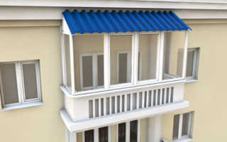Остекление балкона в сталинке