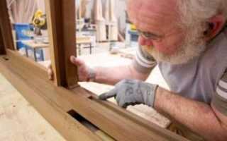 Самодельные деревянные окна