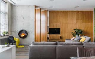 Современный загородный дом интерьер