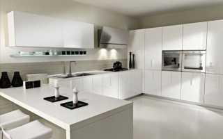 Дизайн кухни гостиной в стиле минимализм