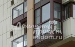Остекление балконов вторым контуром