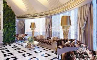 Дизайн занавесок в гостиную