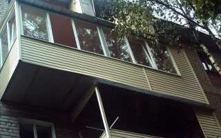 Как расширить балкон в хрущевке