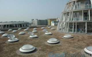 Зенитные окна на крыше