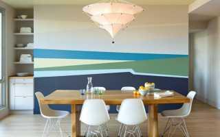 Окраска стен дизайн