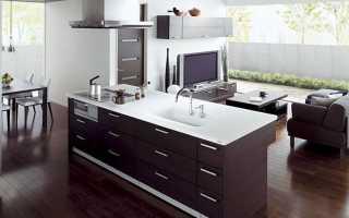Дизайн кухни гостиной 36 кв м фото