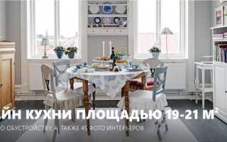 Дизайн кухни гостиной 21 м