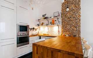 Дизайн гостиной с деревом