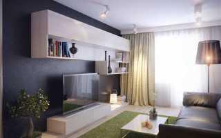 Дизайн мини гостиной