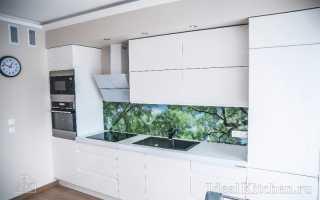 Дизайн кухни длиной