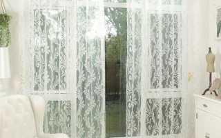 Красивые тюлевые занавески на окна