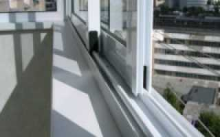 Как установить алюминиевые раздвижные окна