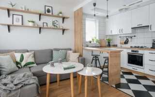 Дизайн кухни столовой гостиной 20 кв м