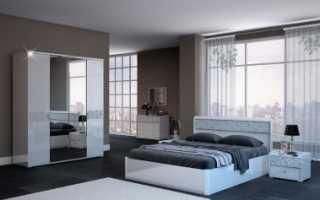 Спальня белла интердизайн