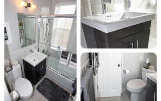 Дизайн ванной комнаты в однокомнатной квартире
