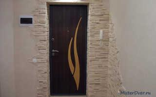 Как устранить конденсат на входной металлической двери?