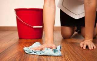 Можно ли мыть ламинат белизной?