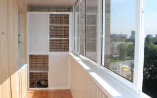 Дизайн балкона внутри