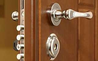Можно ли поменять замок в металлической двери?
