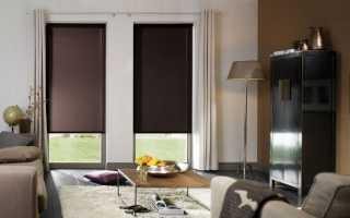 Рулонные шторы как выбрать размер?