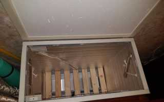 Погребок на балконе от производителя
