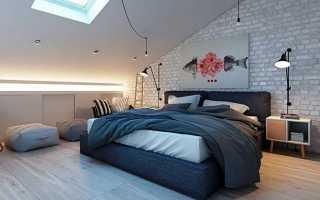 Спальня с мансардой дизайн фото