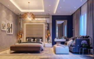 Спальня от дизайнера