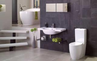 Дизайн ванной комнаты из плитки фото