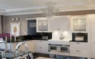 Дизайн кухни в неоклассическом стиле