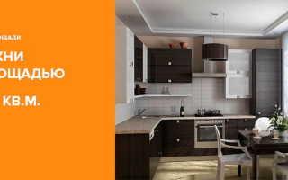 Дизайн кухни гостиной 10