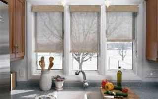 Как стирать рулонные шторы на пластиковые окна