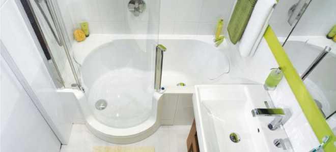 Дизайн ванной современной 4 м