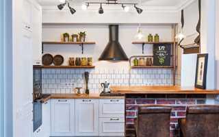 Дизайн кухни в хрущевке с газовой плитой