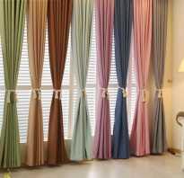 Сочетание цветов в интерьере шторы