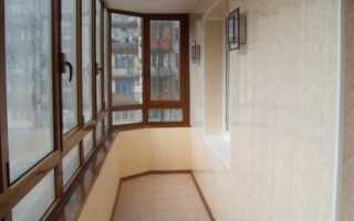 Каким материалом обшить балкон внутри