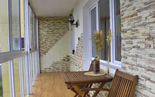 Как утеплить пол на балконе под плитку