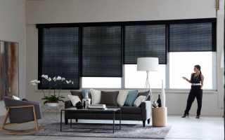 Электрические рулонные шторы на окна