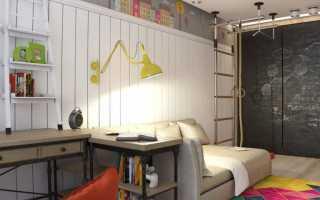 Детская спальня для мальчика дизайн