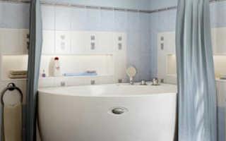 Карниз для ванной полукруглый своими руками