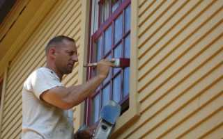 Какой краской покрасить деревянные окна