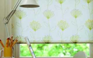 Как изготовить рулонные шторы своими руками?