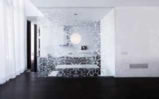 Как закрепить стекло на стене?