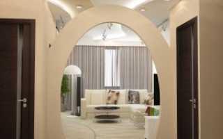 Проект интерьера двухкомнатной квартиры