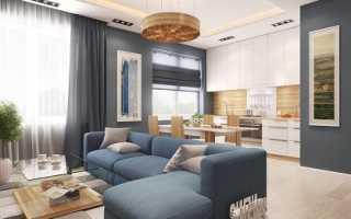 Дизайн кухни гостиной 23 кв м фото