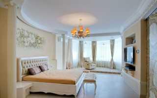 Домашний интерьер спальни